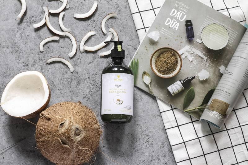 l olio di cocco per la crescita dei capelli